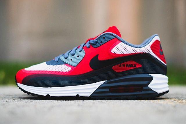 Nike Air Max 90 Lunar University Red Thumb