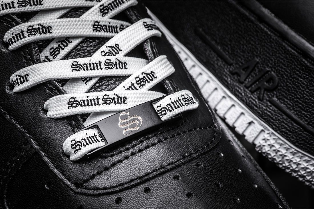 Bespokeind X Saint Side Air Force 1 Custom Close Up8