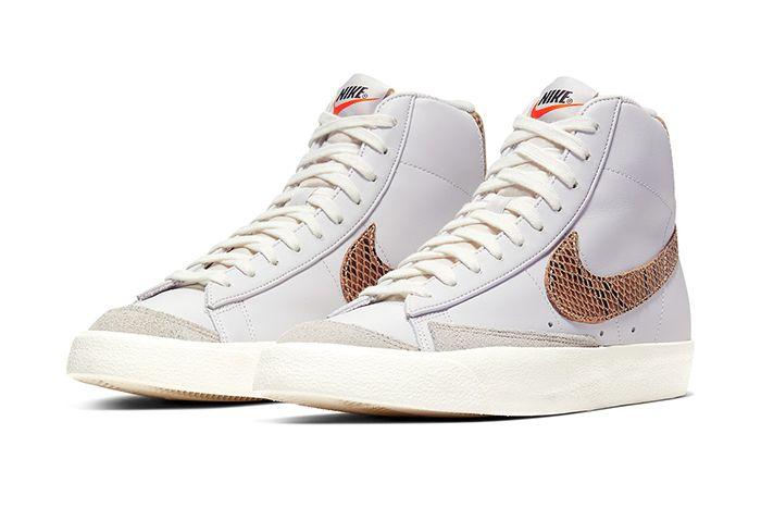Nike Blazer Mid Vintage Python Ci1176 002 Release Date Pair