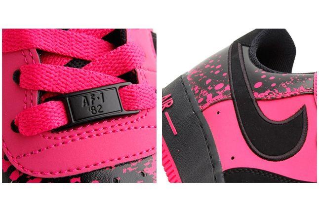 Nike Air Force 1 Low Pink Splatter 2