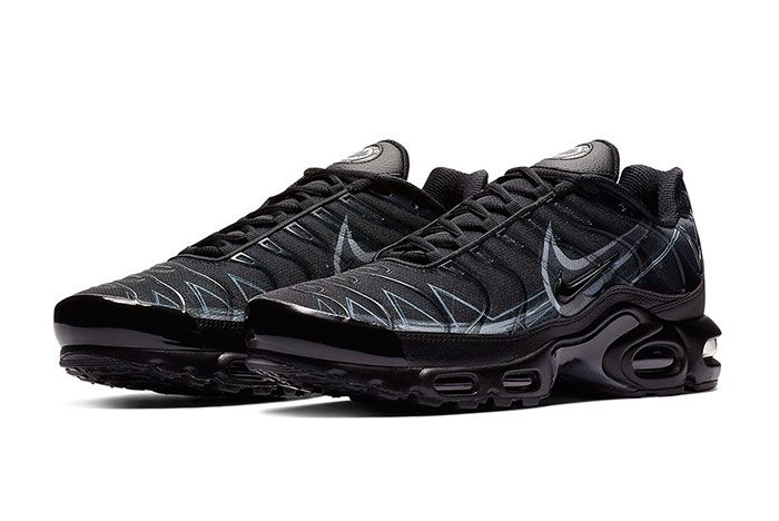 Nike Air Max Plus Le Requin New Black Quarter