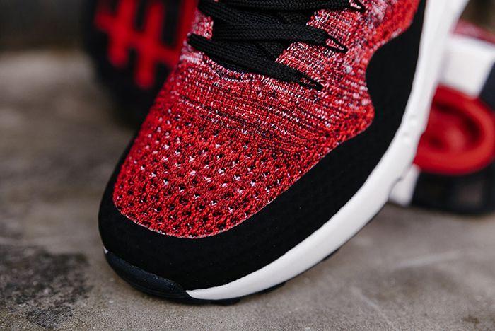 Nike Air Max 1 Ultra 2 0 Flyknit University Red Black6