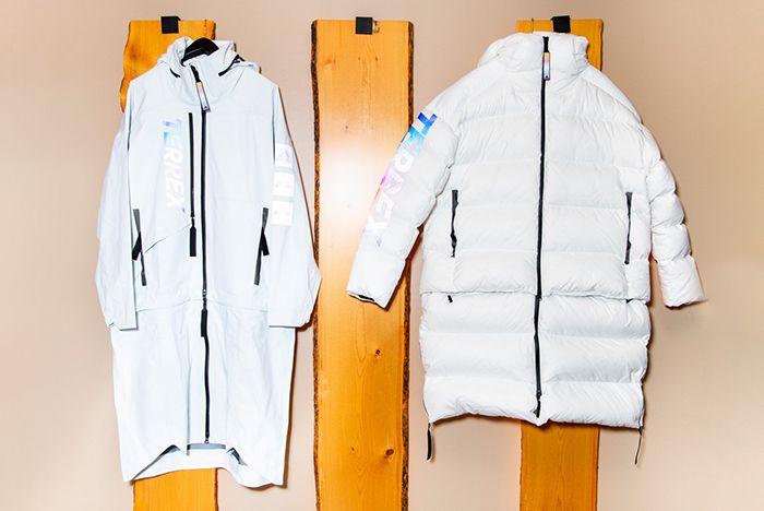 Kith Adidas Terrex White Jackets