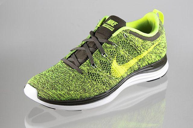 Nike Lunar Flyknit1 Green Tarp Volt 2