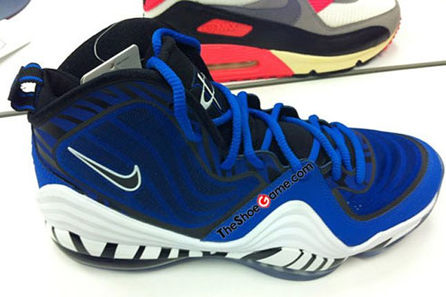 Nike Penny 5 V Blue 1