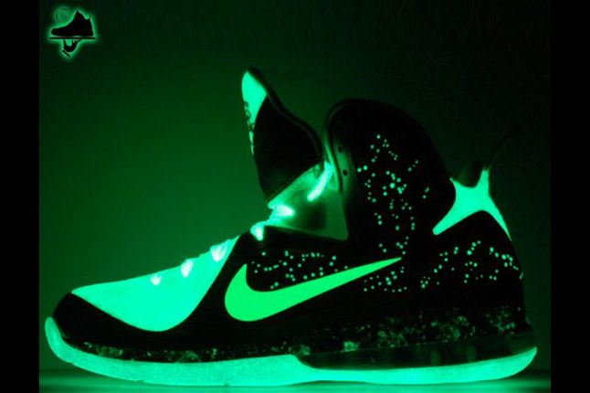 Nike Lebron 9 Brightest Galaxy Customs Gourmet Kickz 02 1