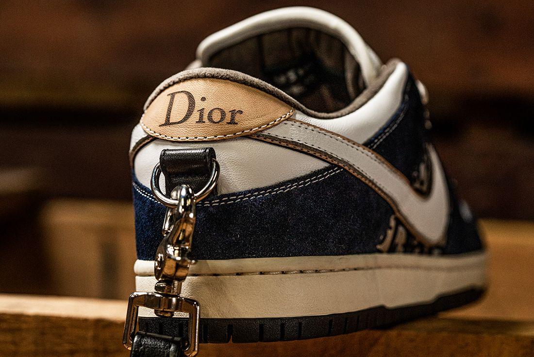 BespokeIND Nike Air Jordan 1 SB Dunk Dior Heel