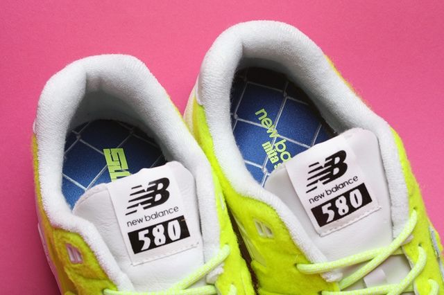 Mita Sneakers New Balance 580 Battle Of The Surfaces Bump 5