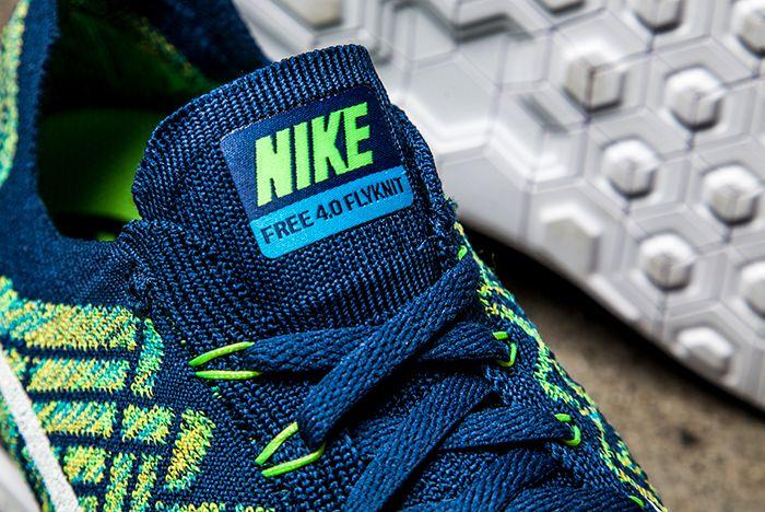 Nike Free 4 0 Green Blue 2