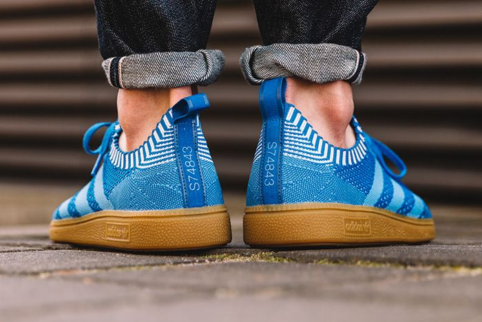 Abultar predicción falta de aliento  adidas Spezial Primeknit (Blue/Running White) - Sneaker Freaker