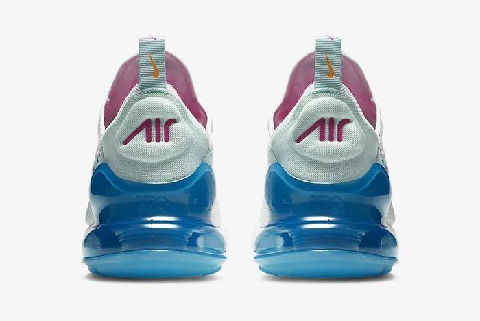 Nike Air Max 270 Womens Laser Fuchsia Heels