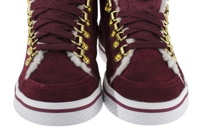 Adidas Originals Honey Hook Burgundy Front