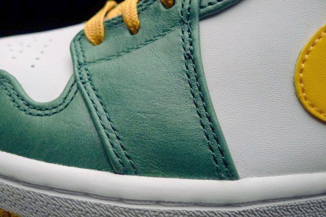 Air Jordan1 Mid Sonics Toe Detail 1
