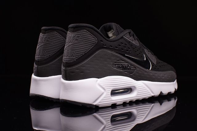 Nike Am90 Ultra Br Black White 2