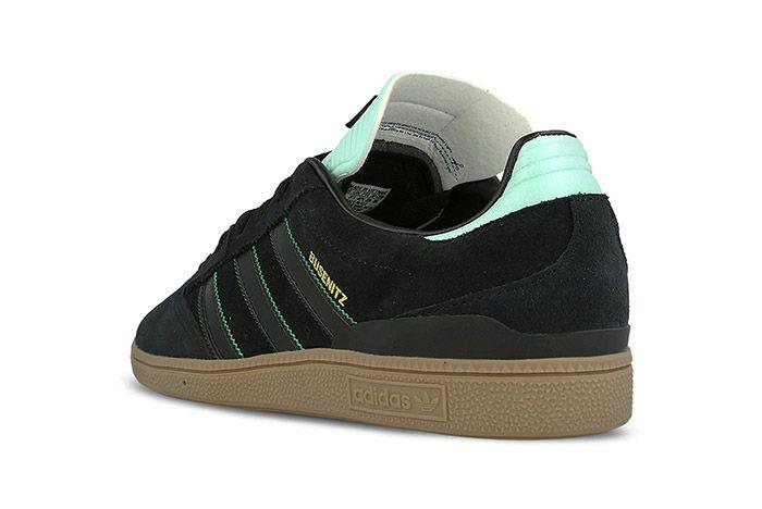 Adidas Busenitz Black Ice Green Gum 4