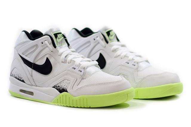 Nike Air Tech Challenge Ii White Black Lime 1