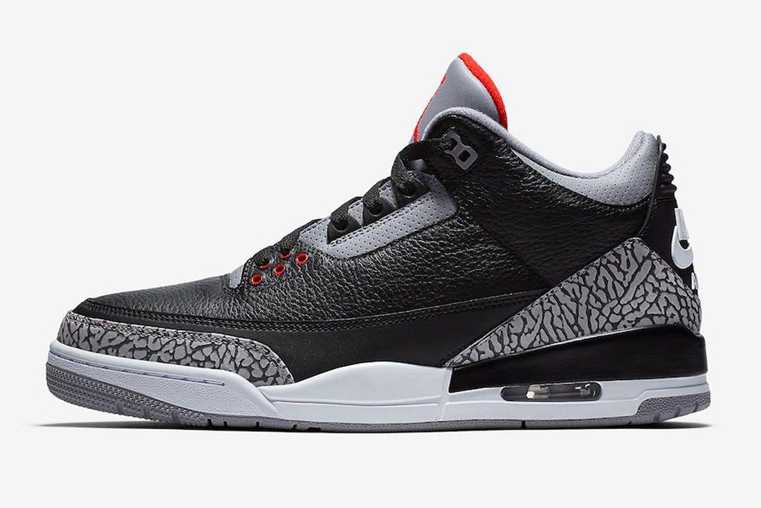 Air Jordan 3 Black Cement Australia 10