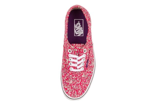 Vans X Liberty Authentic Leaves Pink 1