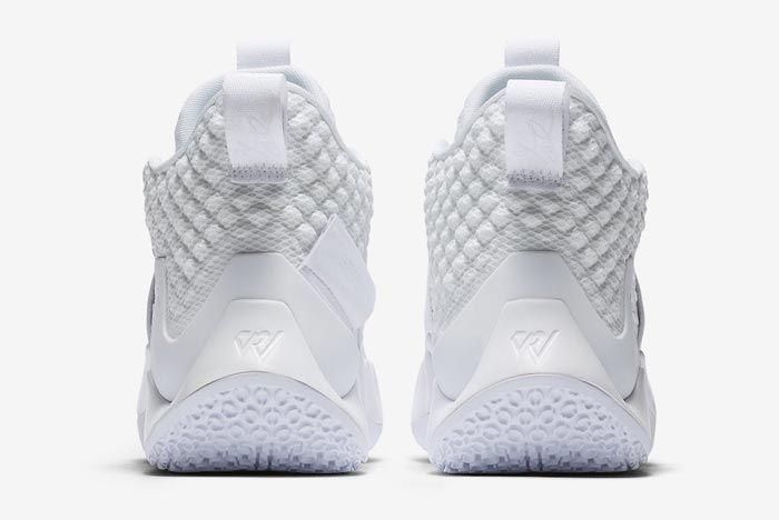 Jordan Why Not Zer0 2 All White Heels