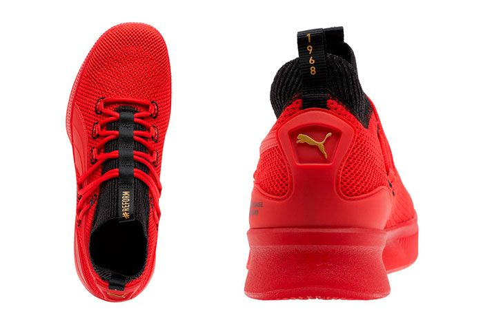 Puma Clyde Court Reform Red Black Meek Mill Top