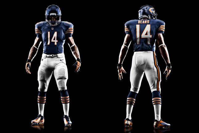 Chicago Bears Uniform 1