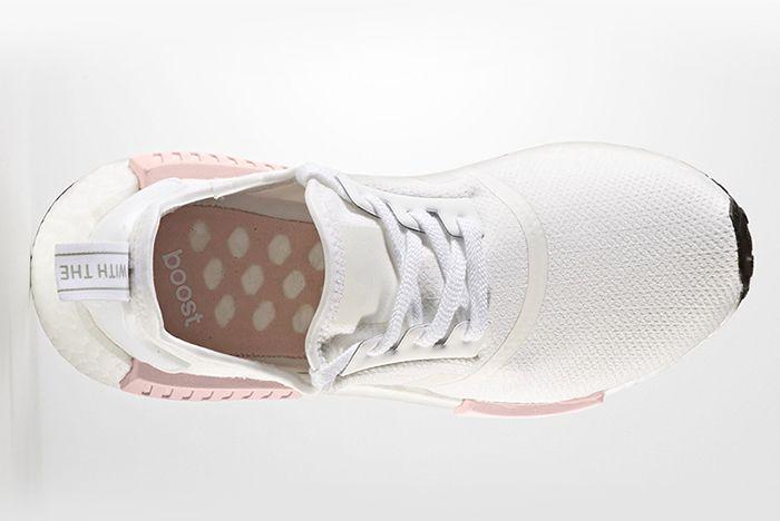 Adidas Nmd R1 Whitepink 3