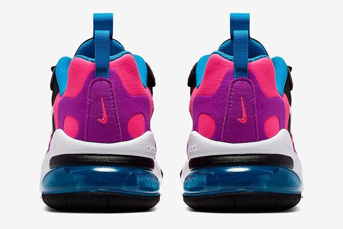 Nike Air Max 270 React Hyper Pink Bq0101 001 Heels Shot