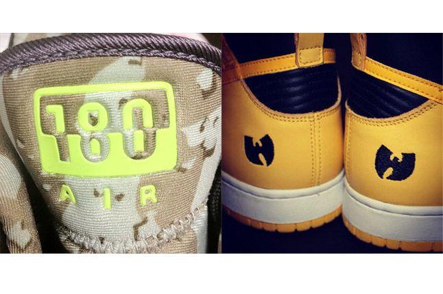 Wu Tang Nike 180 Logos 1