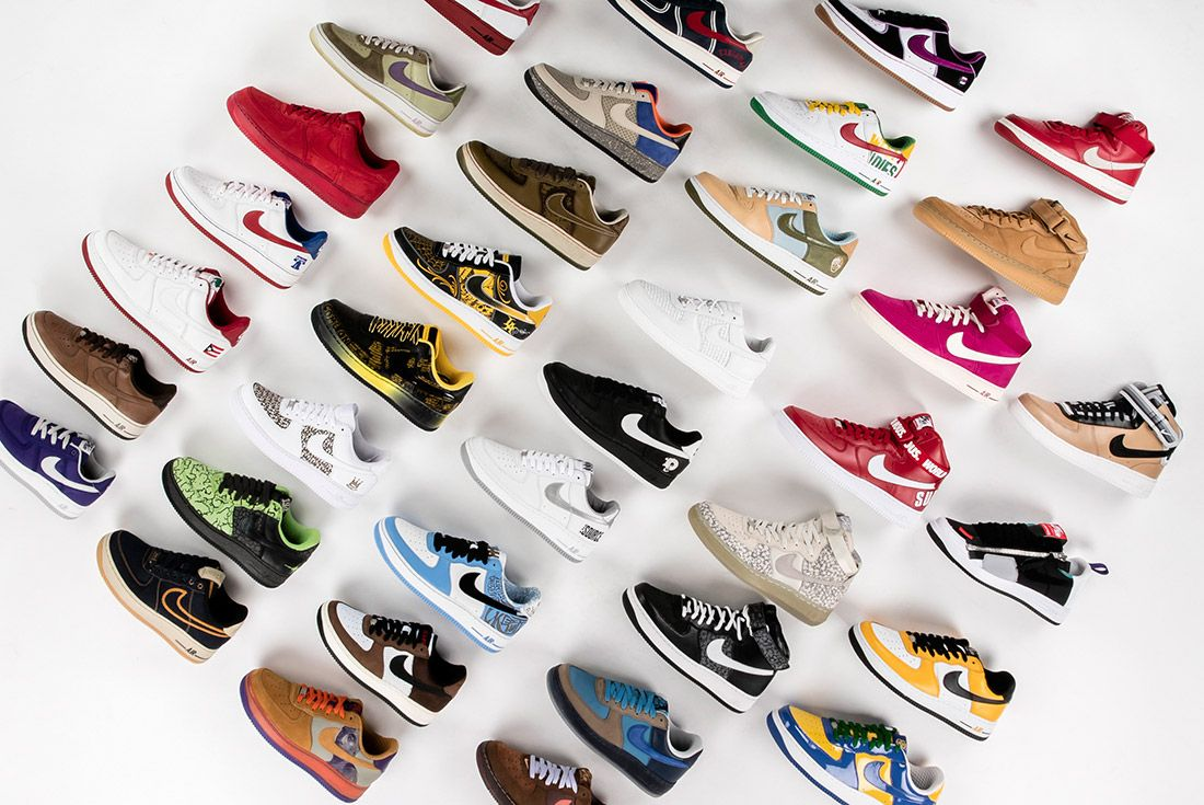 100 Pairs Of The Rarest AF-1s
