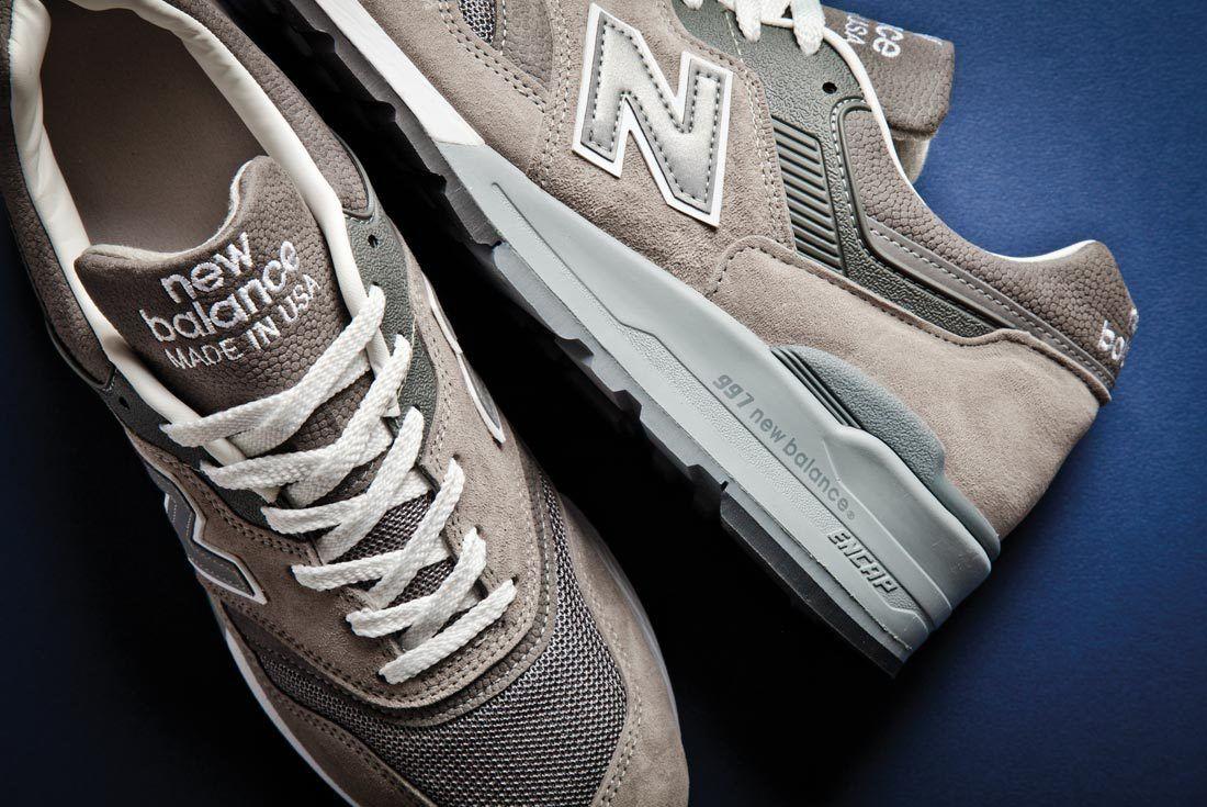 New Balance 997 History Grey