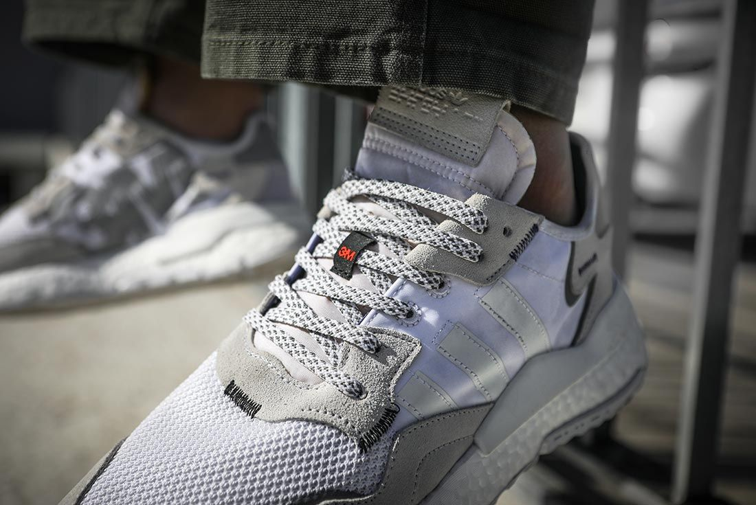 On Adidas Nite Jogger White Detail