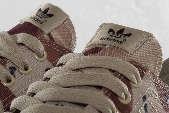Adidas Nizza Classic78 Desert Camo Tongue Detail 1