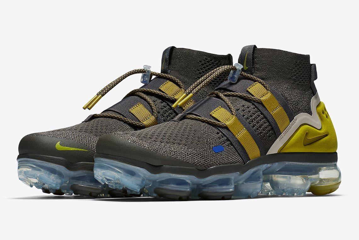 Nike Vapormax Utility Ridge Rock Ah6834 200 Lead Sneaker Freaker