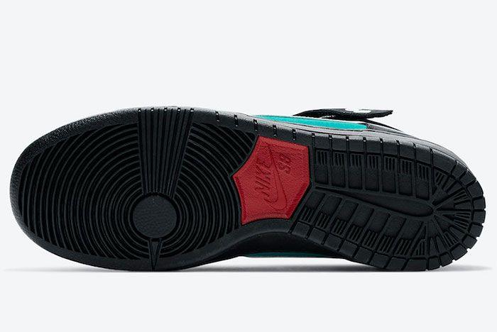 Nike Sb Dunk Mid Griffey Cv5474 001 Sole