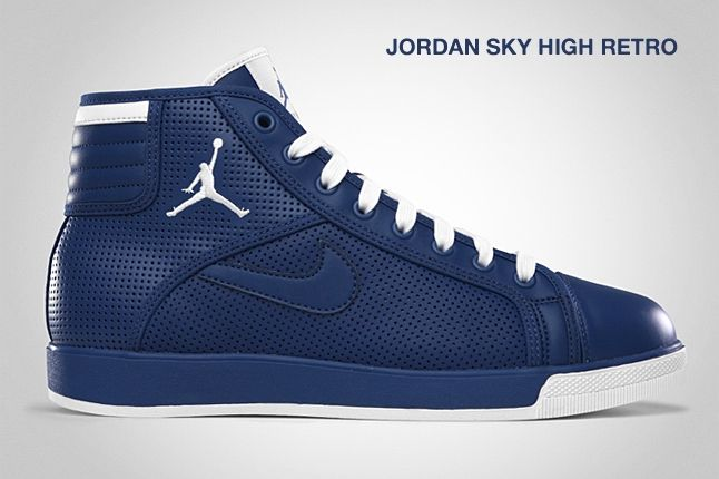 Jordan Sky High Retro French Blue 1