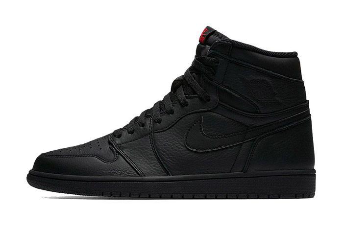 Air Jordan 1 High Triple Black 1