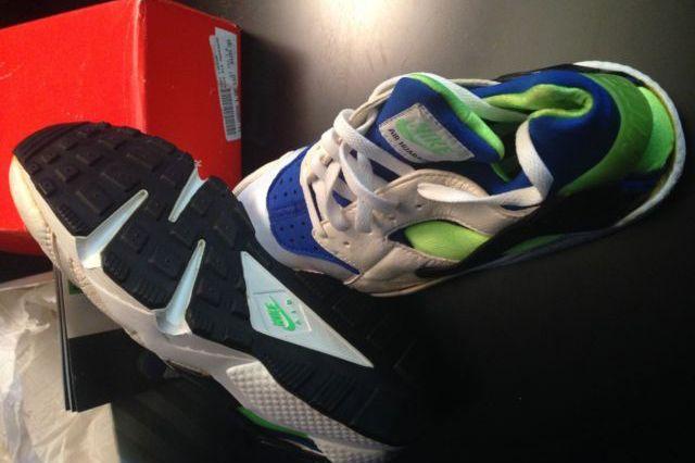 Original Nike Air Huarache Scream Green Available On Ebay 4