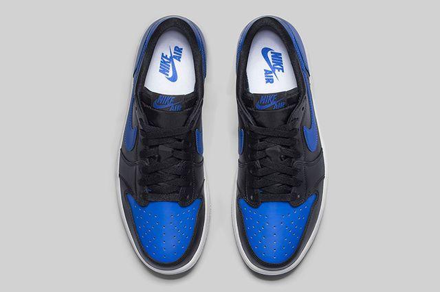 Air Jordan 1 Low Og Royal 4