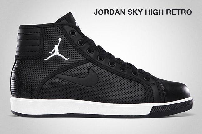 Jordan Sky High Retro Black 1