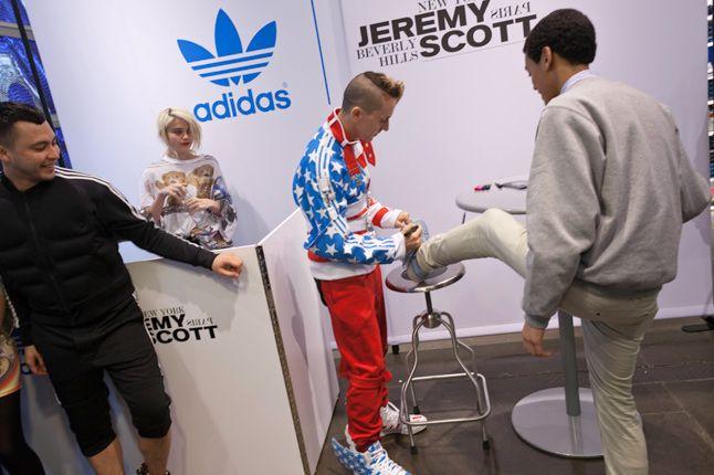 Jeremy Scott In Store Adidas Originals Soho New York 33 1
