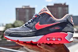 Nike Air Max 90 Wmns Grey Hyper Punch