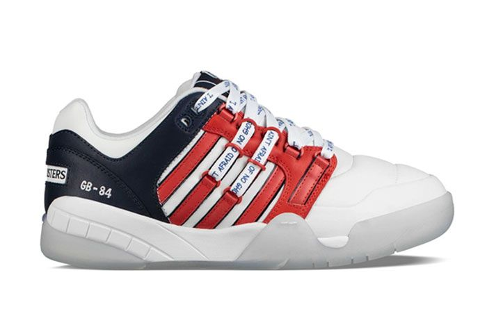 K Swiss Ghostbusters Si 18 International Stay Puft Lateral