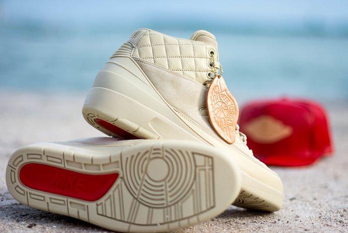 Just Don X Air Jordan 2 Beach2