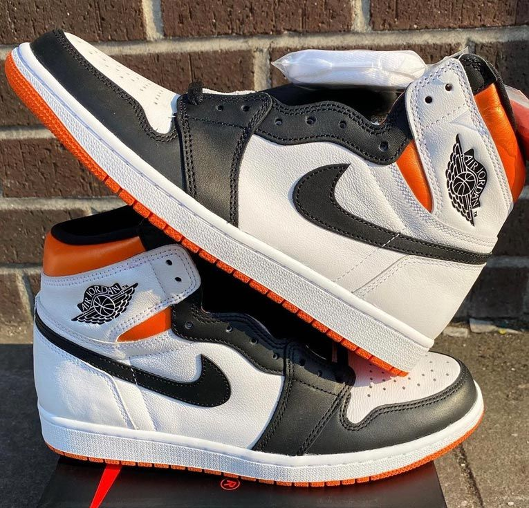 Air Jordan 1 High OG 'Electro Orange'