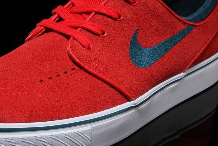 Nike Sb Air Zoom Stefan Janoski University Red3
