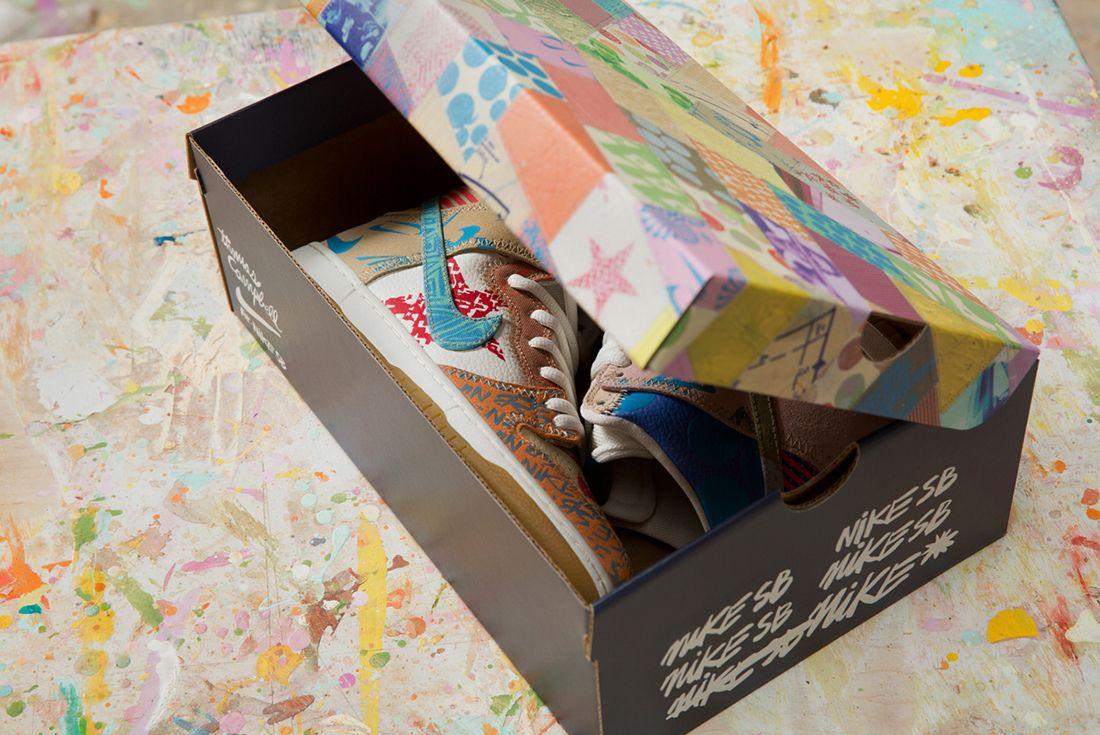 Thomas Campbell X Nike Sb Dunk High Premium What The8