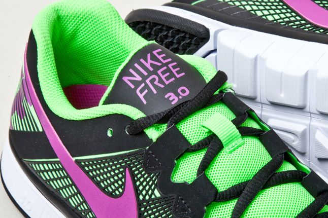Nike Free Trainer 3 0 Mixed Grapes Detail 1