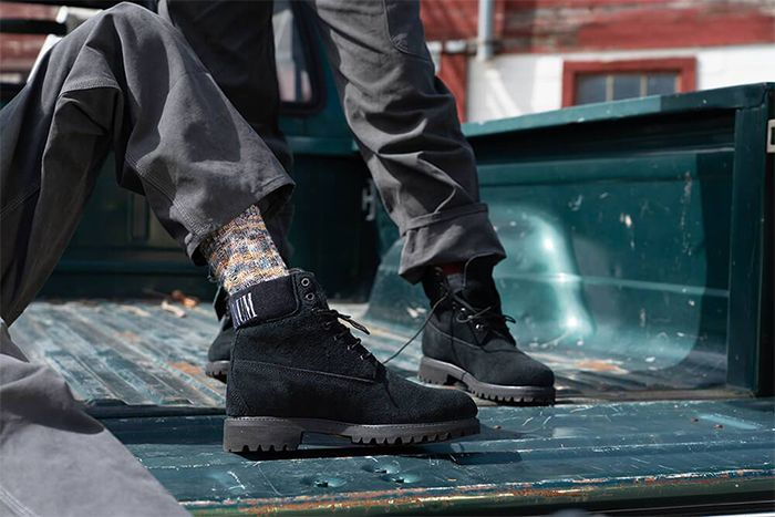 Concepts Timberland 6 Inch Boot Live Free Or Die Release Date On Feet