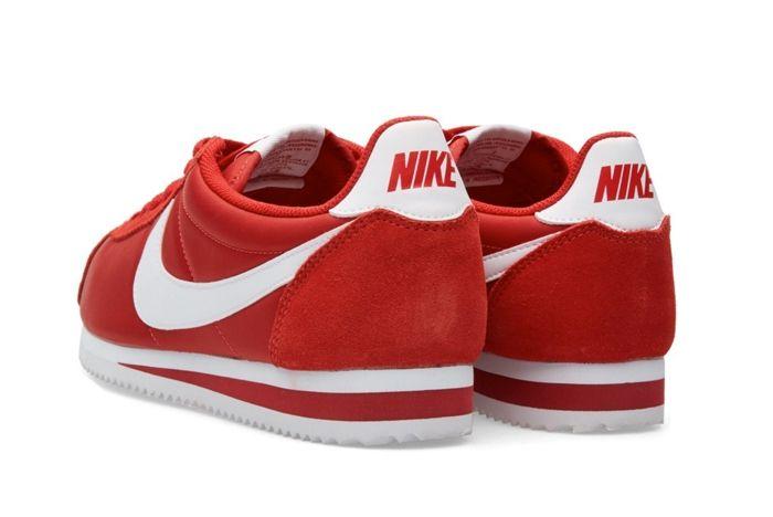 Nike Cortez Nylon Gym Red 2