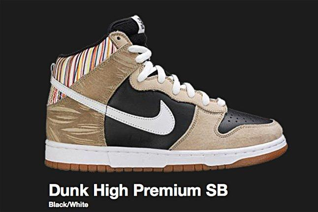 Nike Black Dunk High Premium Sb 2